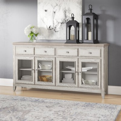 """Findley 66"""" Wide Sideboards Intended For Trendy Distressed Finish Sideboards & Buffets You'll Love In  (View 3 of 30)"""