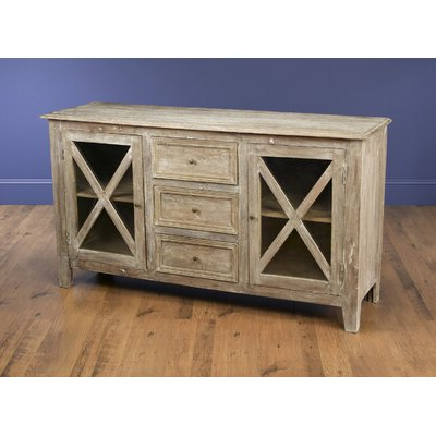 """Findley 66"""" Wide Sideboards Within Well Known Farmhouse & Rustic Sideboards & Buffets (View 7 of 30)"""