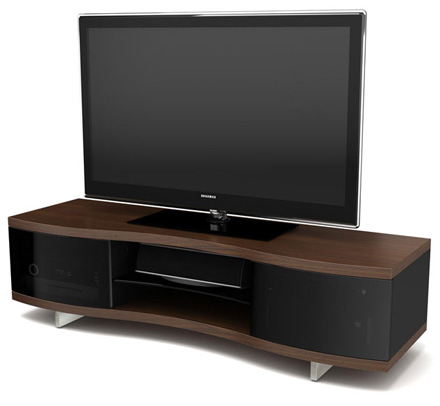 """Finnick Tv Stands For Tvs Up To 65"""" Intended For Popular Bdi Ola 8137 Tv Stand Up To 73"""" Flat Panel Tvs In (View 10 of 30)"""