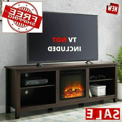 """Fireplace Electric Tv Stand 75 Inch Screen Television For Trendy Lucille Tv Stands For Tvs Up To 75"""" (View 28 of 30)"""