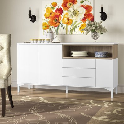Fitzhugh Credenzas For Most Recent Beige Sideboards & Buffets You'll Love In  (View 13 of 21)