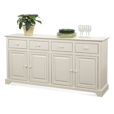 Fitzhugh Credenzas Inside Trendy Beige Sideboard / Credenza Sideboards & Buffets You'll (View 3 of 21)