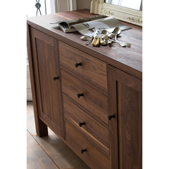 """Featured Photo of Francisca 40"""" Wide Maple Wood Sideboards"""