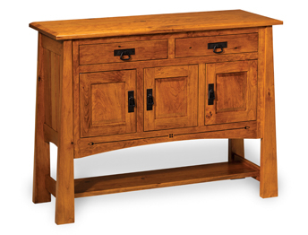 """Francisca 40"""" Wide Maple Wood Sideboards Inside Well Known Carverdale Sideboard (View 3 of 30)"""
