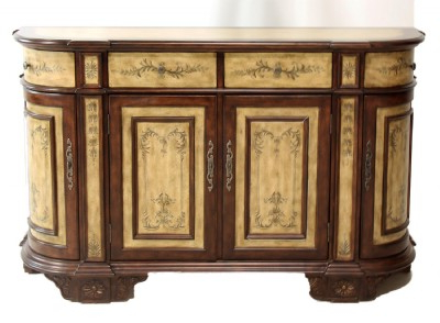 """Francisca 40"""" Wide Maple Wood Sideboards Pertaining To Fashionable Stylish Servers (View 23 of 30)"""
