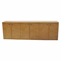 """Francisca 40"""" Wide Maple Wood Sideboards Pertaining To Favorite Midcentury Retro Style Modern Architectural Vintage (View 19 of 30)"""