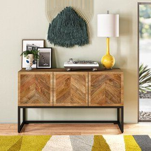 """Frida 71"""" Wide 2 Drawer Sideboards With Regard To Most Recent Corban 57"""" Wide 3 Drawer Buffet Table (View 25 of 30)"""