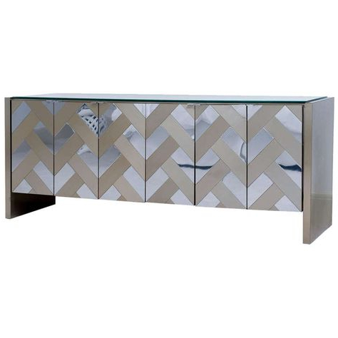 """From A Unique Collection Throughout Herringbone 48"""" Wide Buffet Tables (View 17 of 30)"""