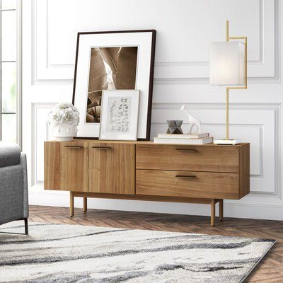 """Furniture With Milena 52"""" Wide 2 Drawer Sideboards (View 18 of 30)"""