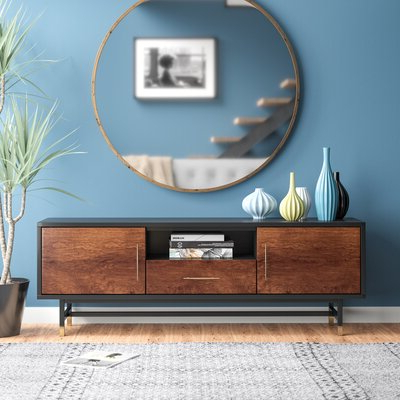 """Garner Tv Stand For Tvs Up To 70 Inches – Allmodern Pertaining To 2019 Huntington Tv Stands For Tvs Up To 70"""" (View 12 of 30)"""