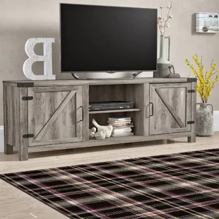 """George Oliver Sideboards """"new York Range"""" Gray Solid Pine Wood In Favorite Tv Stands (View 13 of 30)"""