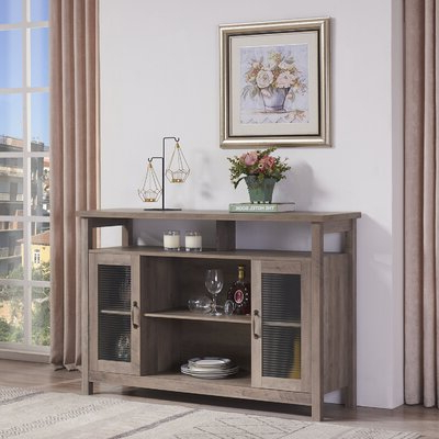 Grey Sideboards & Buffets You'll Love In  (View 2 of 30)