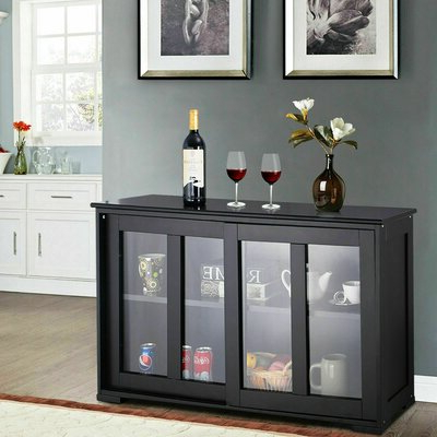 """Grieg 42"""" Wide Sideboards In Popular Black Sideboards & Buffets You'll Love In  (View 16 of 30)"""