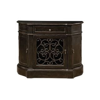 """Grieg 42"""" Wide Sideboards Throughout Favorite Delacora Hm P050121 Marquis 42 1/2"""" Wide Hardwood Bar/wine (View 19 of 30)"""