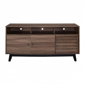 """Herington Tv Stands For Tvs Up To 60"""" Intended For 2019 Dorel Home Products Dorel Vaughn Tv Stand (60"""") Walnut (View 29 of 30)"""