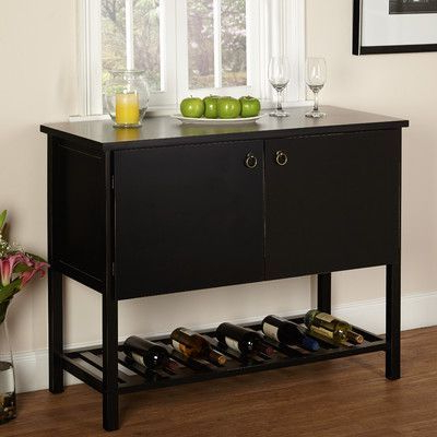 """Herringbone 48"""" Wide Buffet Tables Throughout Well Known Found It At Wayfair – Harvey Buffet (with Images (View 7 of 30)"""
