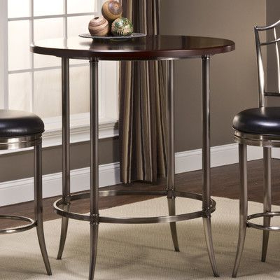 Hillsdale Maddox Bar Height Bistro Table (View 29 of 30)