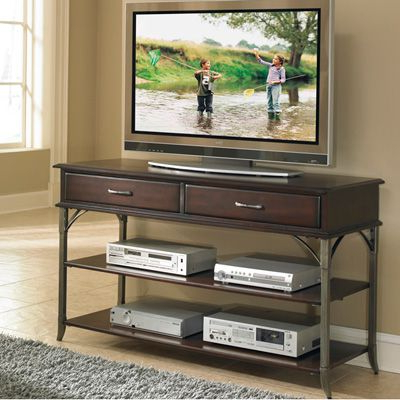 """Home Styles Espresso Bordeaux Tv Stand/media Chest – Fits Throughout Most Current Skofte Tv Stands For Tvs Up To 60"""" (View 28 of 30)"""