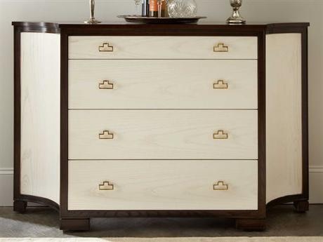 "Hooker Furniture Melange Gold 40''w X 21''d Em Demilune Intended For Famous Aayah 45"" Wide 2 Drawer Servers (View 21 of 30)"