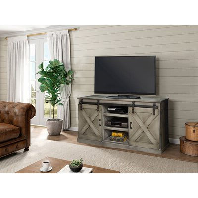"""Huntington Tv Stands For Tvs Up To 70"""" With Regard To 2019 70 Inch And Larger Grey Tv Stands You'll Love In  (View 2 of 30)"""
