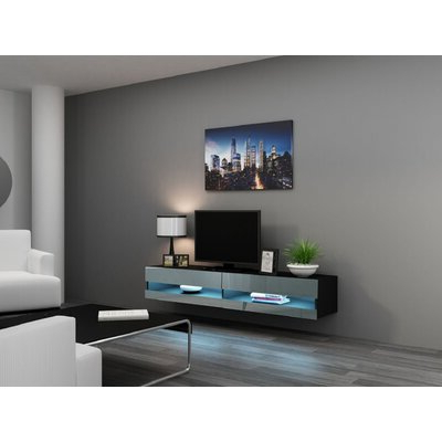 """Ira Tv Stands For Tvs Up To 78"""" Throughout Best And Newest Floating Tv Stands & Entertainment Centers You'll Love In (View 9 of 30)"""