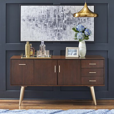 """Islesboro 58"""" Wide Sideboards With Most Recently Released Modern Sideboards + Buffets (View 4 of 30)"""