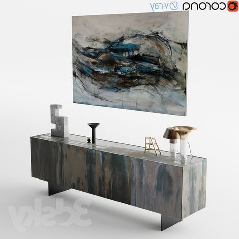 """Ismay 56"""" Wide 3 Drawer Sideboards Regarding Latest 3d Models: Sideboard & Chest Of Drawer – Henge Side X Evo (View 29 of 30)"""