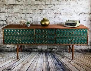 """Isra 56"""" Wide 3 Drawer Sideboards Pertaining To Famous 53 Ideas Antique Furniture Tv Stand Dressers For (View 29 of 30)"""