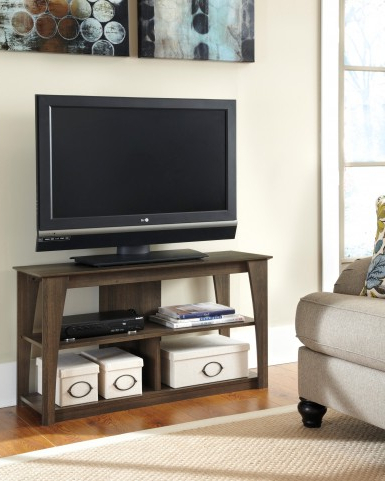 """Josie Tv Stands For Tvs Up To 58"""" Intended For Favorite Frantin Tv Stand From Ashley (w129 10) (View 28 of 30)"""