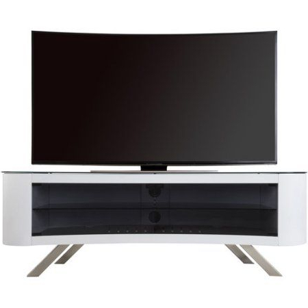 """Josie Tv Stands For Tvs Up To 58"""" Intended For Most Recently Released Avf Bay Curved Tv Stand For Tvs Up To 70 Inch, White (View 25 of 30)"""