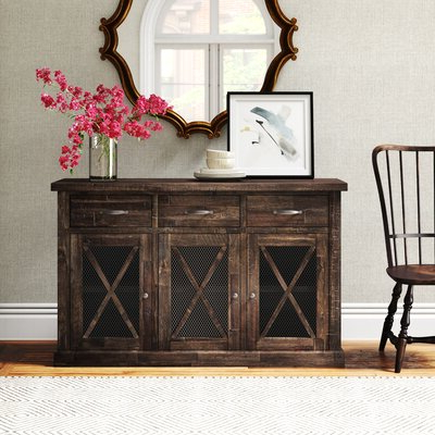 """Joss & Main In 2020 Daisi 50"""" Wide 2 Drawer Sideboards (View 12 of 30)"""