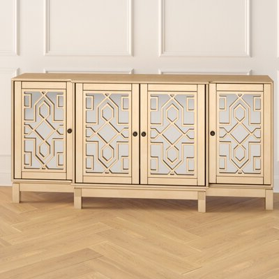 """Joss & Main In Newest Claire 70"""" Wide Acacia Wood Sideboards (View 24 of 30)"""