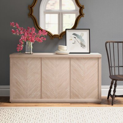 """Joss & Main Inside Widely Used Brentley 54"""" Wide 1 Drawer Sideboards (View 7 of 30)"""