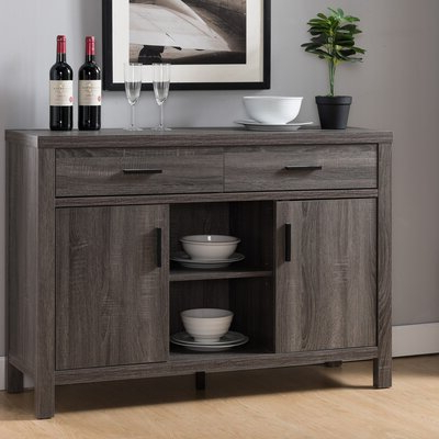 "Joss & Main Regarding Best And Newest Millstadt 52"" Wide 3 Drawer Pine Wood Buffet Tables (View 12 of 30)"