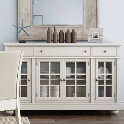 """Joss & Main Regarding Claire 70"""" Wide Acacia Wood Sideboards (View 23 of 30)"""