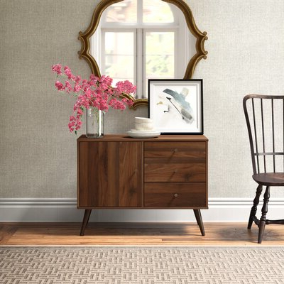 """Joss & Main Throughout Famous 64"""" Wide Rubberwood Sideboards (View 12 of 30)"""