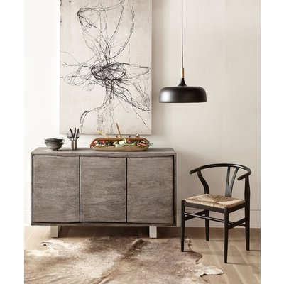 """Joss & Main Within 2020 Claire 70"""" Wide Acacia Wood Sideboards (View 25 of 30)"""