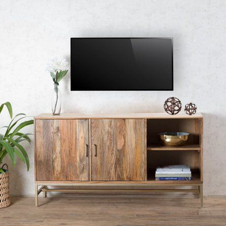 Kemble Tv Stands For Tvs Up To 56 For Preferred Bungalow Rose Connell Storage Media 56'' X 16 X (View 7 of 30)
