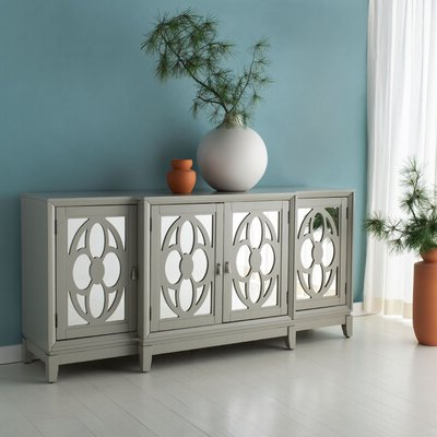 """Kidham 68"""" Wide Sideboards Regarding Current Mirrored Sideboard & Buffet Tables You'll Love In  (View 13 of 30)"""