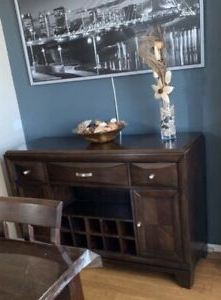 Kijiji Intended For Millwood Pines Floor Storage Cabinet With 2 Doors And 2 Open Shelves (View 24 of 30)
