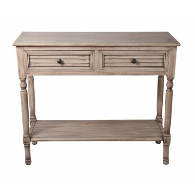"""Kinston 74"""" Wide 4 Drawer Pine Wood Sideboards Throughout Preferred 36 Inch Wide Console Table (View 19 of 30)"""