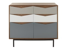 """Kinston 74"""" Wide 4 Drawer Pine Wood Sideboards With Favorite Storage Furniture (View 23 of 30)"""