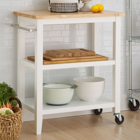 """Kitchen Cart, Dining Intended For Latest Shirley Mills 52"""" Wide Buffet Tables (View 27 of 30)"""