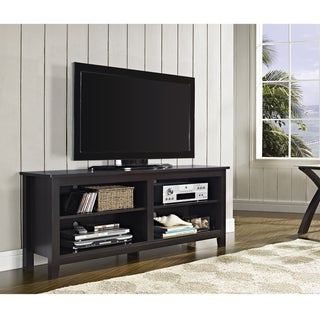 """Labarbera Tv Stands For Tvs Up To 58"""" With Favorite 58 Inch Espresso Wood Tv Stand – Overstock™ Shopping (View 16 of 30)"""