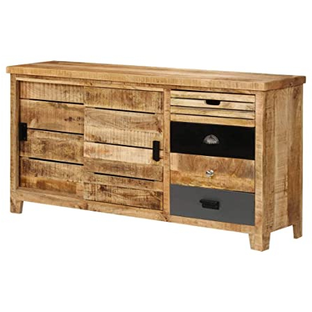 """Latest Maddox 80"""" Wide Mango Wood Sideboards In Highboard Mangoholz (View 3 of 30)"""