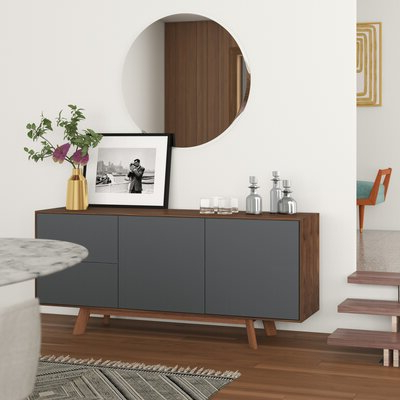 """Latest Reece 79"""" Wide Sideboards Throughout Modern Sideboards + Buffets (View 11 of 30)"""
