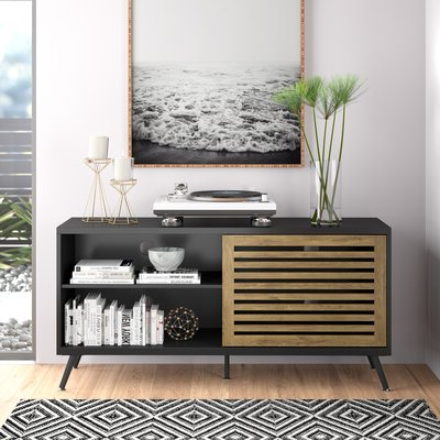 """Latest Shilo Tv Stands For Tvs Up To 65"""" In Berna Tv Stand For Tvs Up To 65"""" – Allmodern (View 22 of 30)"""
