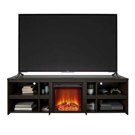 """Lederman Tv Stands For Tvs Up To 70"""" In Most Recent Ameriwood Home Worthing Fireplace Tv Stand For Tvs Up To (View 21 of 30)"""
