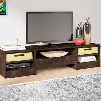 """Lederman Tv Stands For Tvs Up To 70"""" Intended For Latest Norloti Entertainment Center For Tvs Up To 70 Inches (View 25 of 30)"""