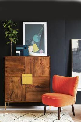 "Macdonald 36"" Wide Mango Wood Buffet Tables Within Popular Kirstie Mcdermott: Mahogany Sideboard? Yes, Please – Dark (View 23 of 30)"